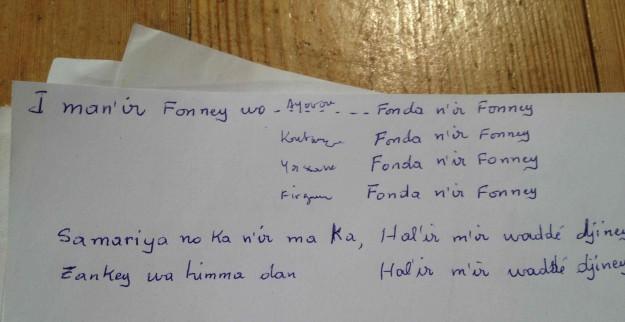Samria-texte