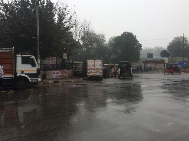 Delhi-Pluie